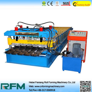 Glazed Panel Roof Panel Roll Forming Machine