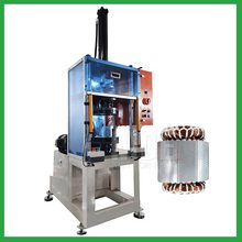 Enter and Exit Station Stator Final Forming Machine