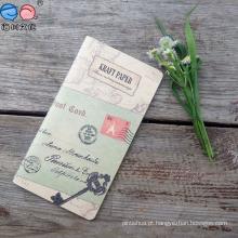 Caderno de costura de papel Kraft de Nova Design 2016