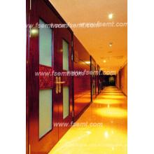 Lujoso y elegante interior del hotel paneles de madera arbolada (EMT-F1206)