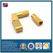 Hohe Präzision Messing CNC Drehen mit Bearbeitung von Metallteilen (WKC-460)