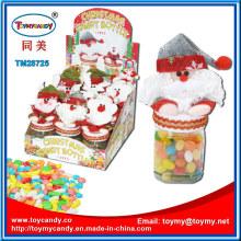 Weihnachtsweihnachts-Santa Claus Toy mit Süßigkeits-Behälter