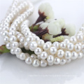 11mm Large Size off Round Natural Freshwater Full Drilled Pearl String