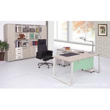 Nouvelle table de gestion de bureau de mélamine de mode (HF-B-204)