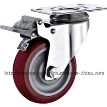 Stainless Steel Series - PU Caster