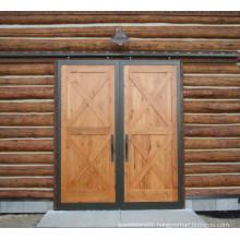 Double X-Brace Sliding Barn Door