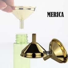 Stainless Steel Mini Golden Perfume Funnel