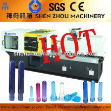 Máquina de moldagem por injeção de caixa de plástico automática completa