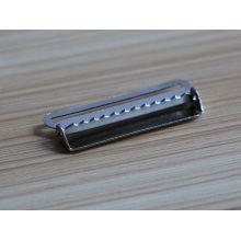 Peças de fivela de cinto de níquel cor baratos com fivelas de fábrica para cintos