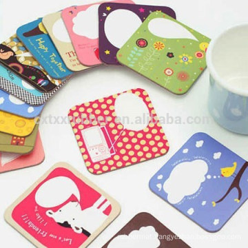rubber cup mat, heat transfer print coaster
