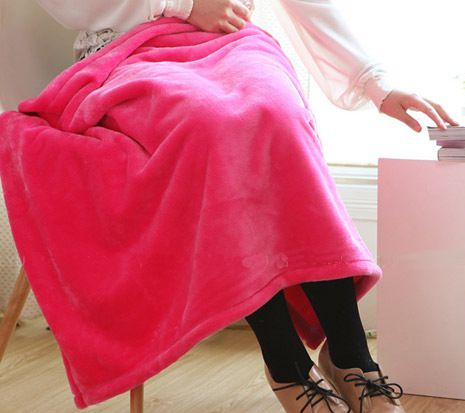 Coral Fleece Blanket Throw