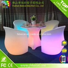 Светодиодная мебель, Стол освещения, Журнальный стол
