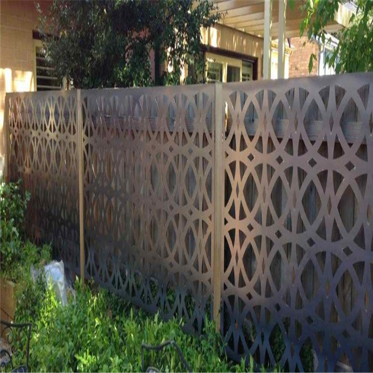 Laser Cut Metal Fence Screen
