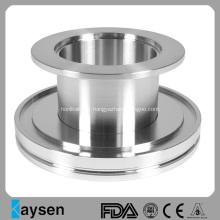 Adaptateur tubulaire de réducteur droit ISO-KF en acier inoxydable