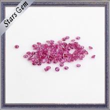 Natural Small Size 2mm Vivid Red Natural Precious Ruby Stone