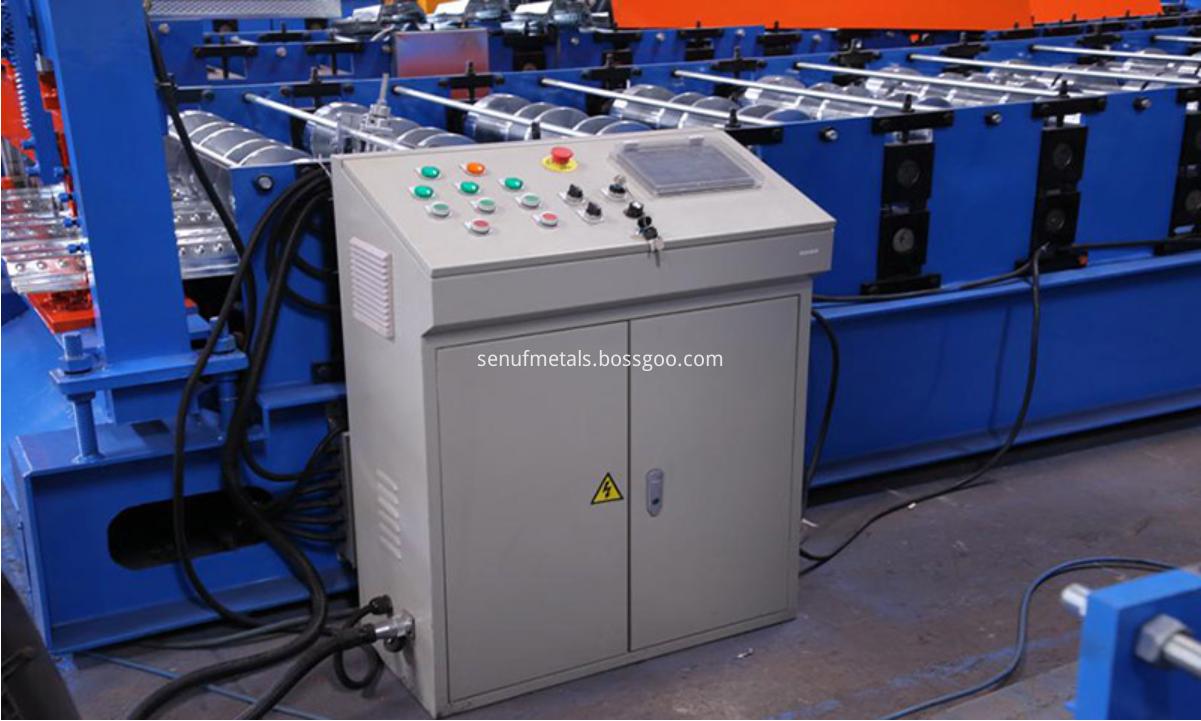 Floor decking PLC control system