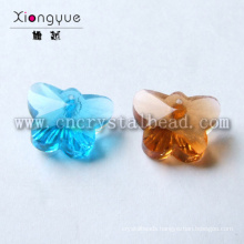 Fashion Nice Clear Flower Glass Beads For Christmas Decoration