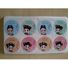 Fast-selling product stickers waterproof sunscreen stickers