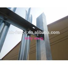 Jardín W y D tipo de valla de hierro fundido fábrica