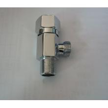 Угловой клапан для смесителей с хромированным покрытием