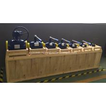 Шаровой кран распределительного устройства отопления