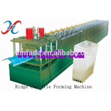 Ridge Cap Steel Sheet Cold Roll Forming Machine