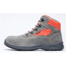 Ufb027 Stylish Suede Leather Steel Toe Safety Shoes