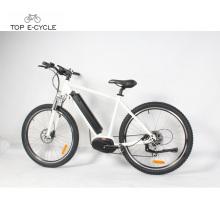 26 pulgadas ambiental Bafang MAX mediados de motor de accionamiento eléctrico bicicleta al por mayor