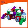 Equipamentos de playground de plástico para crianças pequenas