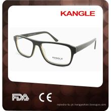 2017 Novos moldes ópticos de acetato de design, óculos de homem agradáveis