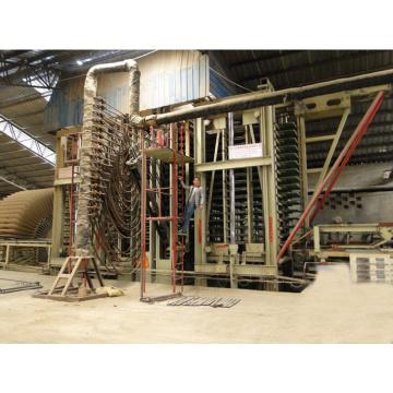 MDF Heißpressmaschine
