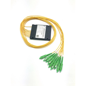 PLC 1 * 8 ABS BOX splitter sc apc connecteur