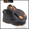 Geniune Leather Safety Boots with Steel Toe and Steel Midsole (SN5294)