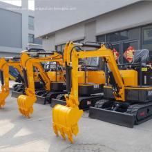 Melhor 1,5 toneladas mini máquinas escavadoras da rotação de 360 graus