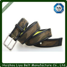 Army Green Embellished Fabric Belts