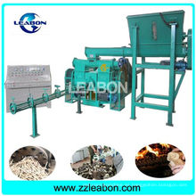 Paja de Biomasa Tallos Wood Sawdust Briquette Machine