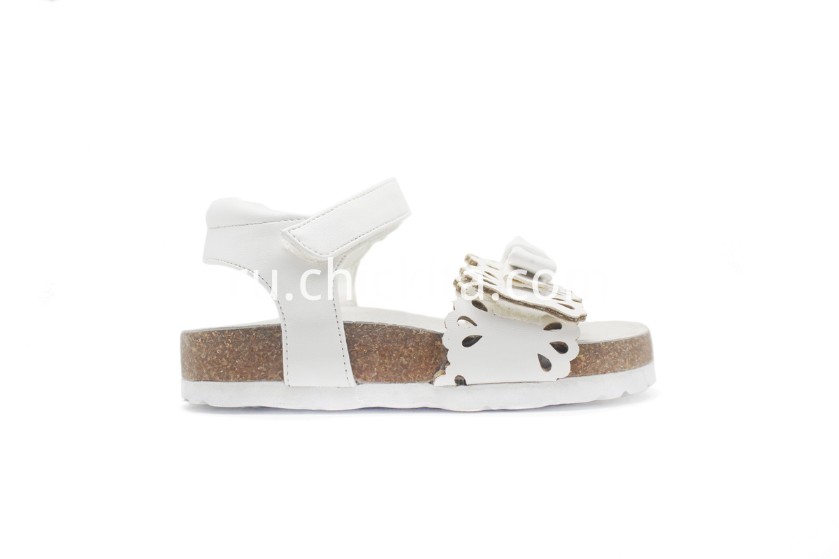 Children Birkenstocks with unique bow