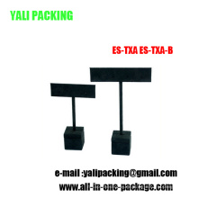 Black MDF Flock Ohrring Schmuckständer (ES-TX-A / ES-TX-B)