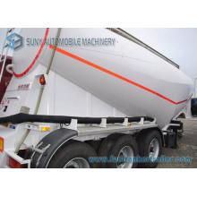 34 Cbm V Shape Cement Tanker Trailer 3 Axis