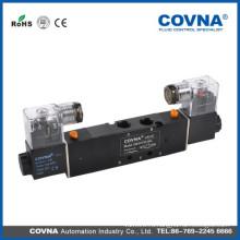 HK4V230Cseries 5/3 стандартное напряжение с двойной головкой трехпозиционный воздушный электромагнитный клапан