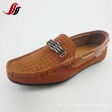 Homens mais recente de lazer sapatos de couro Driver Shoes Loafer Shoes (CIMG7225)