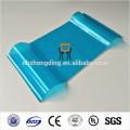 0,8 mm 10 ans de garantie en polycarbonate PC feuille de romaine ondulée