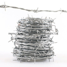 China Manufacturer of Galvanized Barbed Wire Amazon Sale