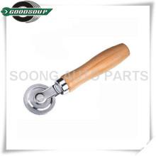 Costureiro de madeira do reparo do pneu do punho, costureiro do rolo, giroscópio