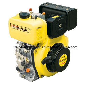 Motor diésel pequeño refrigerado por aire de 4HP y 4 tiempos (TD170F)