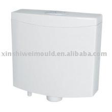 Outil de moule de réservoir d'eau de toilette en plastique injecté