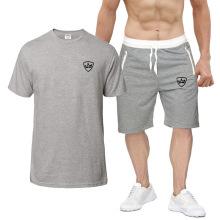 Summer Casual Short Sleeve Tops and Short Pants