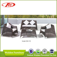 1 + 1 + 2 sofá del jardín (DH-172)
