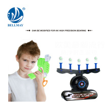 Electric suspension target shooting guns, hover shot,glow in the dark target game
