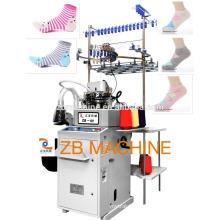 computerized automatic sock knitting machine 3.75 inch plain and terry socks